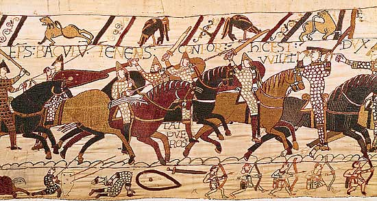 Bayeux Tapestry and the Battle of Hastings ...