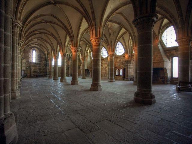 The Scriptorium of Mont-St-Michel
