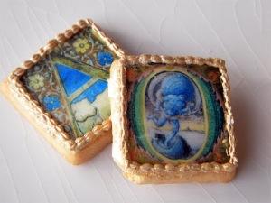 Medieval Alphabet Cookies