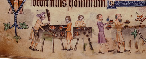 Luttrell Psalter, f. 207v © The British Library