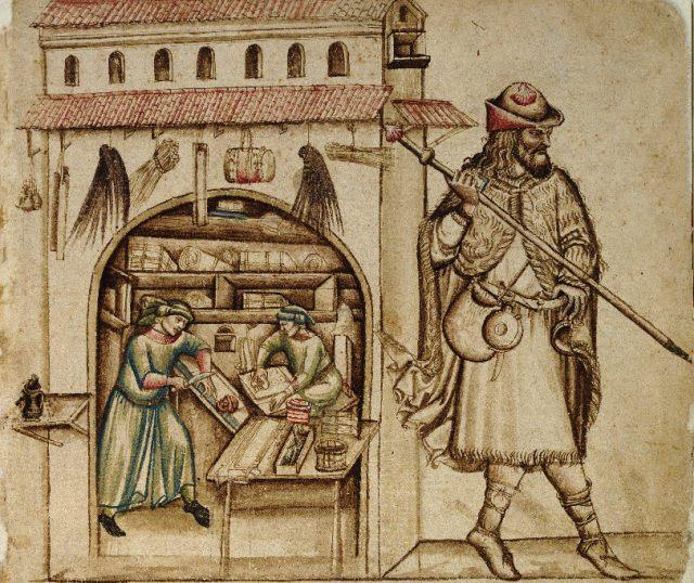 Bologna, Biblioteca Universitaria, ms. 1456 (= Sorbelli 963), f. 4r © 2002 Biblioteca Universitaria di Bologna