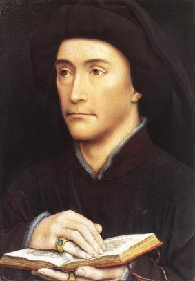 Rogier van der Weyden, Man with Book (c. 1450)