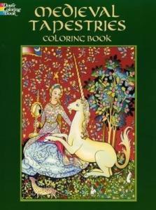 Medieval Tapestries -Coloring Book