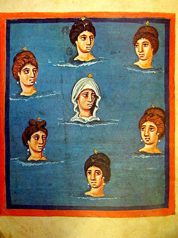 The Pleiades, or Seven Sisters, f. 42v.