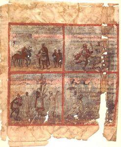 Quedlinburg Itala 5th c.(Berlin, Staatsbibliothek Preussischer Kulturbesitz, Cod. theol. lat. fol. 485)
