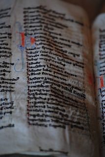 A wordlist including Dutch in the Leiden University Collection. Photo courtesy Julie Somers.