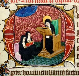 Detail of Folio 61r, The Burnet Psalter (MS 25), University of Aberdeen
