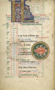 Hunterian Psalter 12th. century, Glasgow University Library MS Hunter 229