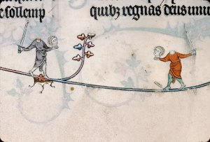 Summer volume of the Breviary of Renaud/Marguerite de Bar, Metz ca. 1302-1305. Verdun, Bibliothèque municipale, ms. 107, fol. 99v