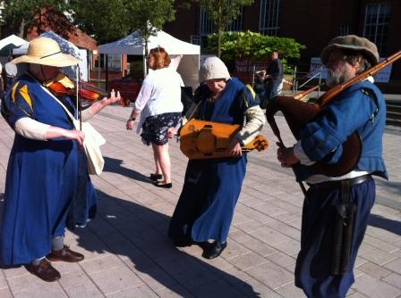 Medieval musicians in Leeds