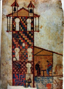 Scriptorium in tenth-century Spain (Madird, Nat. Hist. Archaeological Museum Ms.Cod., 1097 B, c. 970)