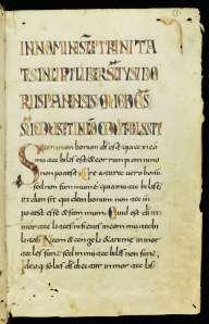 Manuscript copied c. 800 (St Gall, Stiftsbibliothek, MS 229)