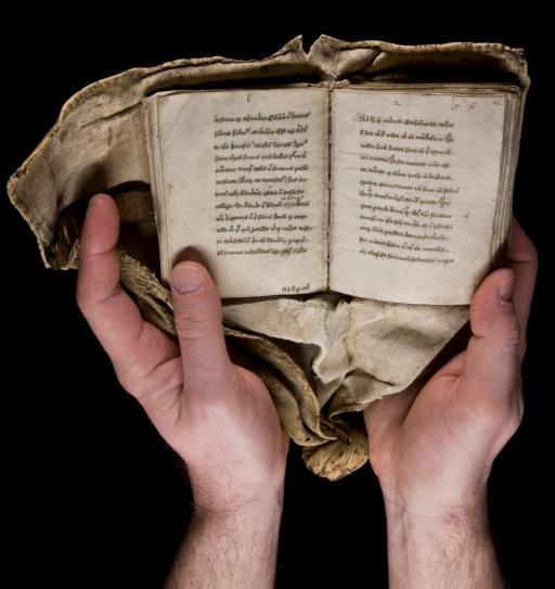 A portable copy of Boethius's 'De consolatione philosophiae'.
