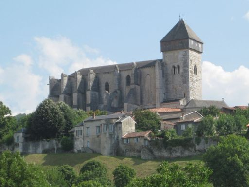 Cathedral of St Bertrand de Comminges. Watch the clip about James' description of the cathedral here: http://bbc.in/19l9mhU