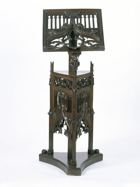 Wooden lectern, c. 1490