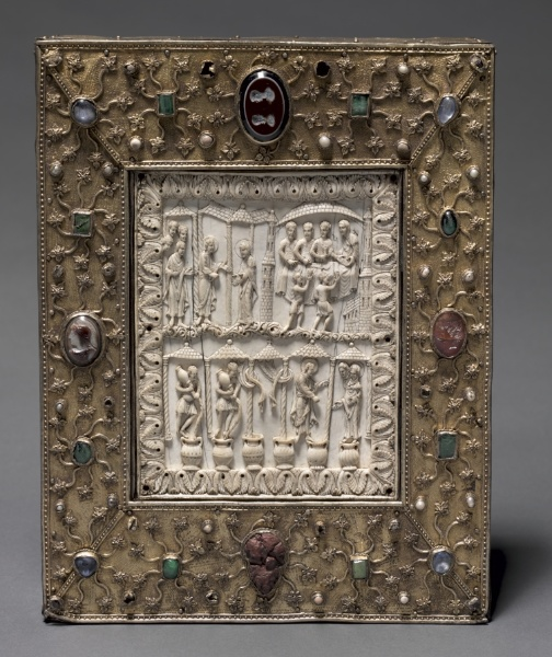 Book Shaped Reliquary c.1000 (Germany)