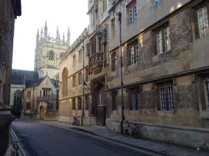 Corpus Christi College, Oxford (pic: my own)