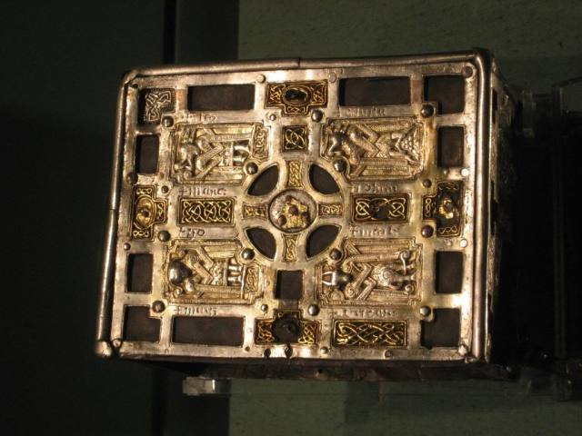 Book-Shrine or cumdach of Molaise, c.1001-25 (National Museum of Ireland, Dublin)