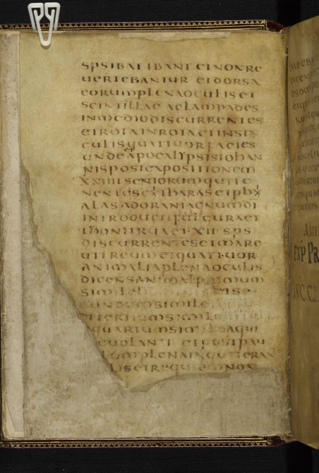 "British Library, Harley 1775, f. 2v – Note that the number XII has been placed between ""dots"" (puncti)"