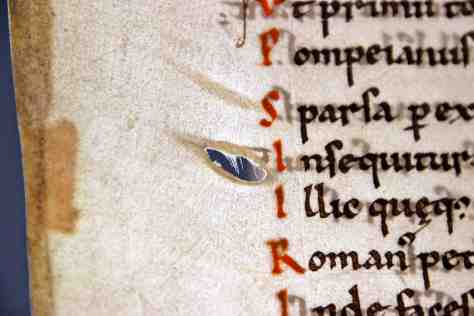 2. Leiden, Universiteitsbibliotheek, BUR MS 1. Pic: the author.