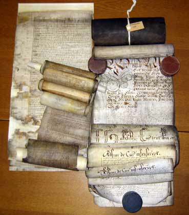 Wakefield Manor Scrolls